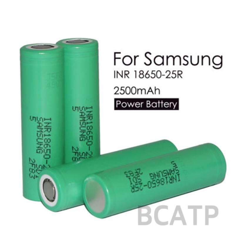 Authentic 25r samsung inr18650-25r battery 18650 35 amp battery samsung 25r 18650 akku imr 18650 lithium ion battery