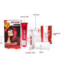 Hot sell hair color with free degign box