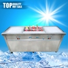 Jiangmen stainless steel table top fried ice cream machine