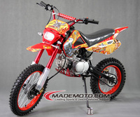 Christmas Gift Air Cooled 4 Stroke Dirt Bike 110cc / Petrol Mini Bike / Mini Motocross Bike
