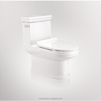 2018 New Design Fashion Water Closet Ceramic One Piece Toilet