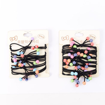 Fashion Elastic Hair Band Ponytail Holder Ropes for Girls and Women