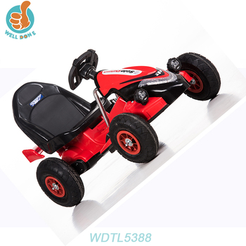WDTL5388 2017 Wholesale New Licensed With Double Battery Tractor Cheap Car Toys