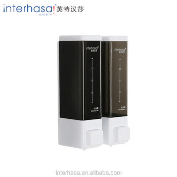 2018 High quality simple double wall mounted liquid automatic kitchen soap dispenser