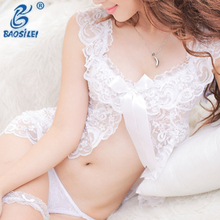 White Color Sexy Teen Girl T-Back Underwear Briefs Tumblr Hot Moms Lingerie