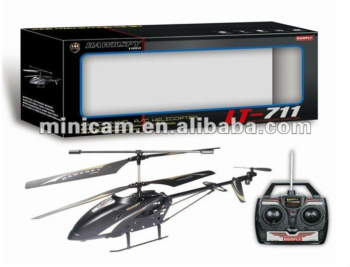Hot Sale 3 Channel RC IR Helicopter with Camera DVR(include SD card)