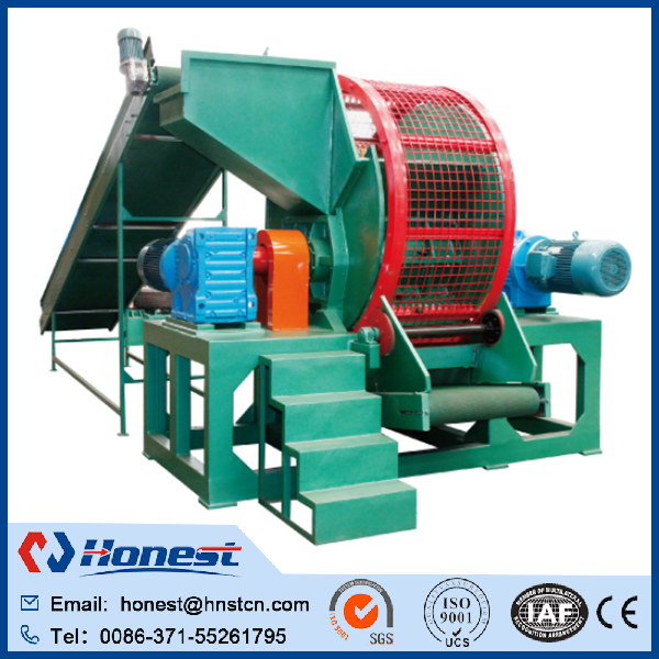 semi-auto used truck tyre changer/ waste tire recycling machine manufacturer price made in China