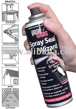 SPRAY N SEAL-MASTIC SEALANT-ASPHALT-NO MAIS VAZAMENTOS (693)
