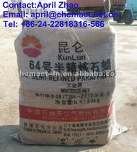 Semi Refined Paraffin Wax 64-66 DEG. C