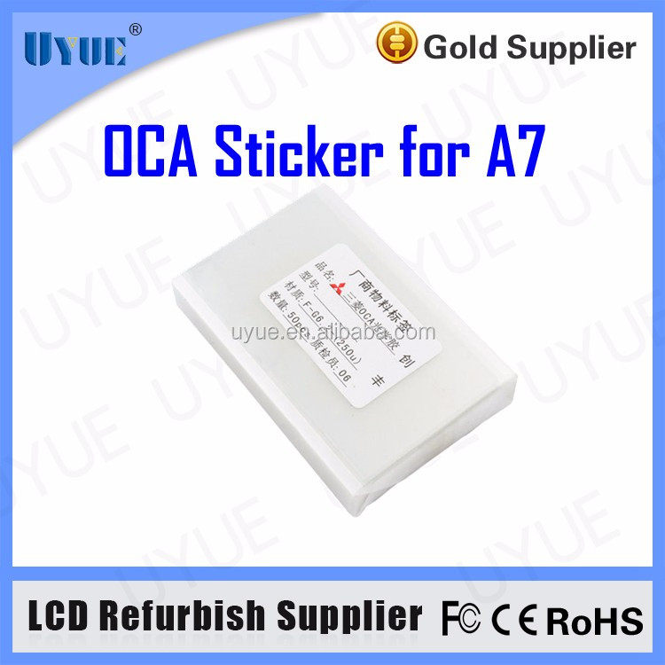 for LCD Glass Repair Fix OCA Optical Clear Adhesive for Samsung Double Side Sticker 250um