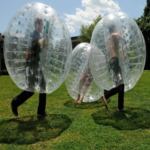 Big sale!!! inflatable human size soccer bubble hot sale inflatable loopy ball for human