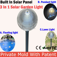 New High Qulaity Outdoor Decorative Led Garden Solar Light