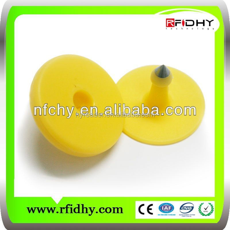 rfid ear tags for animals with em4105 chip