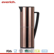 large BPA free unique decorative stainless steel double tea kettles