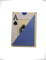 custom casino paper printed poker plastic playing card, custom plastic poker cards