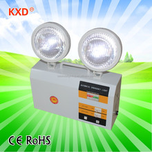 hot selling 3W X 2 LED light rechargeable emergency lamp