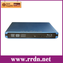 Blue Aluminum USB3.0 BDXL External Blu ray burner
