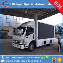 CLW manufacturer multi-functional FORLAND mobile led video display truck