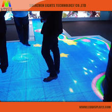 2017 Hot Sale Full Color Interactive Dance Floor Led Display P5 Led Screen Outdoor