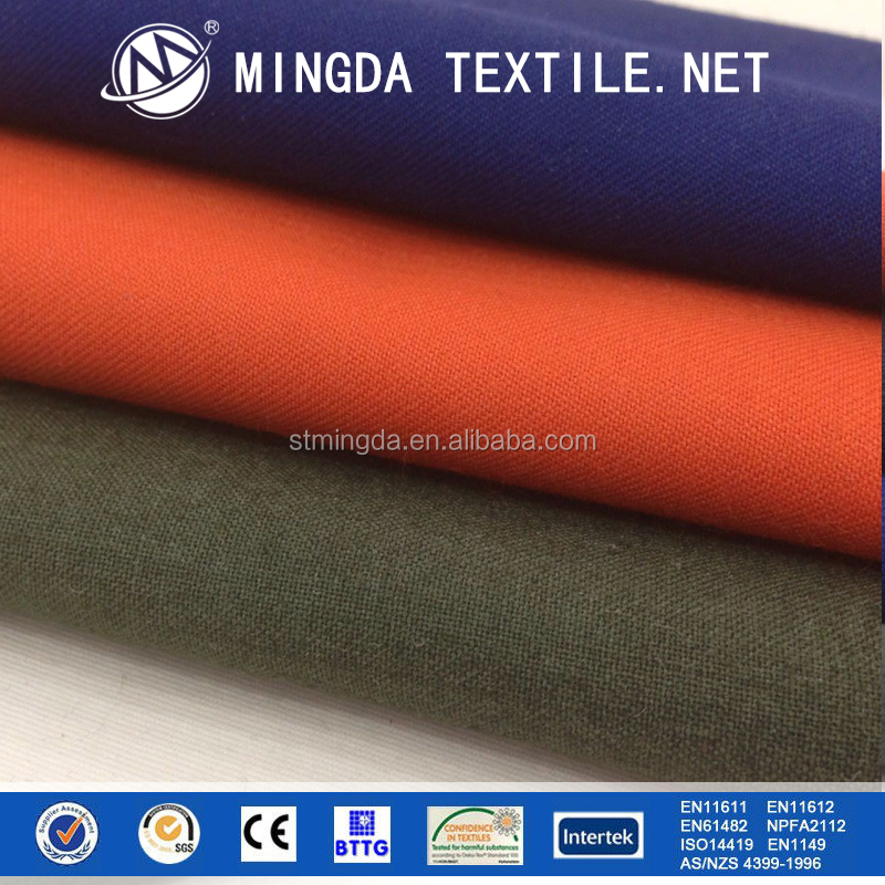 EN ISO 11612 nomex fire proof meta-aramid fabric for firefighting workwear