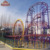 2018 new design amusement park used roller coasters for sale
