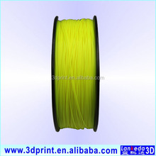 Guangzhou supplier 1.75mn/3mm pla/abs filament for sales