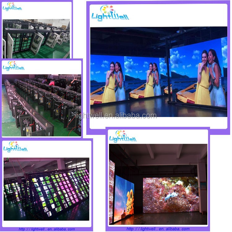 Lightwell p4.81 smd outdoor led display