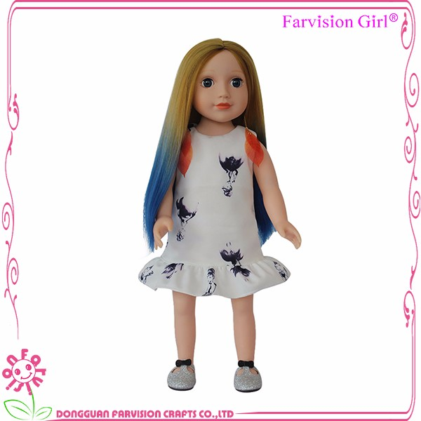 Chinese Girl Doll Wholesale, 18 Inch real skin doll