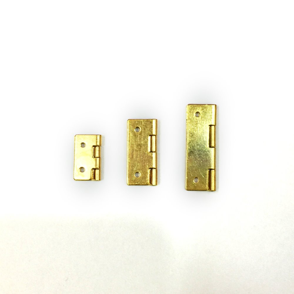 High Quality Piano Hinge For Wood Box / Jewelry Box Brass Hinges 25mm