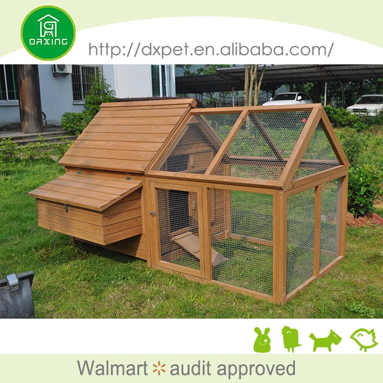Made in china fashional fir wood large chicken coops