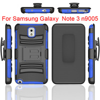 Hard plastic soft silicon mobile cover for Samsung galaxy note 3 robot case standing bracket phone case for samsung galaxy note