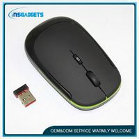 2.4ghz wireless optical mouse with micro receiver , H0T008 , mini wireless mouse ultra thin wireless usb mouse