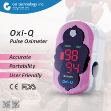 High Quality Color finger pulse oximeter walmart for babies and adult