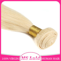 New product 6a virgin original brazilian remy human hair 27/613# color hair extension