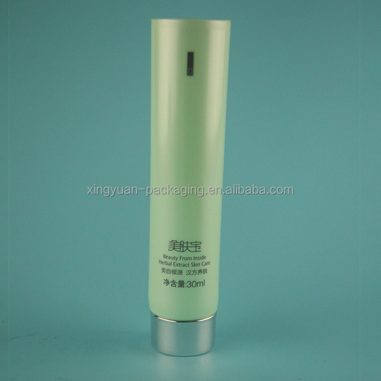 high grade PE plastic soft cream tube