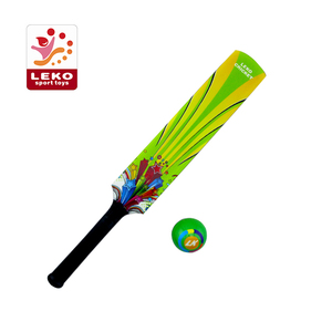 360 printing kids cricket bat and ball for teenage boy