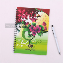 Factory directly sale Yemen student spiral exercise note book
