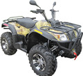 maple leaf camouflage 500cc 4wheels ATV/Automatic 500cc 4x4/4x2 with high&low gears (TKA500E-D)