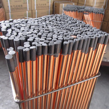 DC copper coated pointed arc air gouging carbon electrode rod 19*510mm