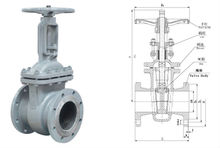 valve parts os y gate valve made in china gate valve