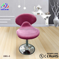 wood office chairs with casters (KM-SC1001)