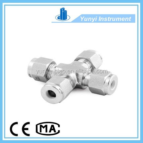 4 Way Pipe Fitting/NPS Pipe Fitting/Male Female Pipe Fittings