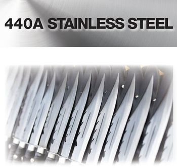 TYPE AISI 440A stainless steel sheets, UNS S44002