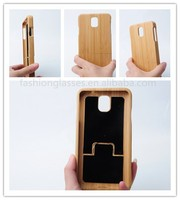 eco-friendly new design elegant handmade real wood bamboo phone case mobile phone accessories cell phone shell/cover/skin