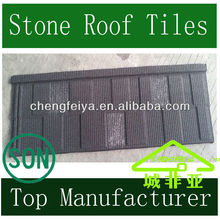 Colored Stone Coated Metal Roofing Shingle
