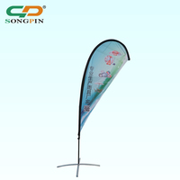 2018 Wholesale Flag Custom Cheap Prices Design Advertising Beach Banner Flags