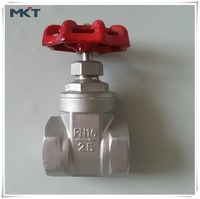 High Quality High Pressure Factory ANSI SS304 Female Thread DN50 steam Gate Valve