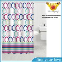 Custom Home Goods Digital Printed PEVA Shower Curtain
