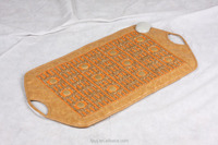 Korea negative ion massage mat with jade or germanite
