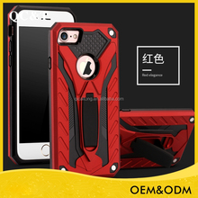 New product phantom shockproof Kickstand tpu pc 2 in 1 hybrid phone case for 6G/6S